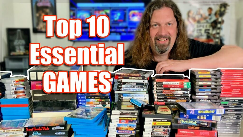 Top 10 Games EVERYONE should PLAY at least once!