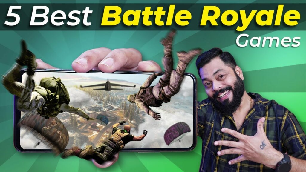 Top 5 Best Battle Royal Games ⚡ PUBG Mobile Alternatives You Can Play Now!