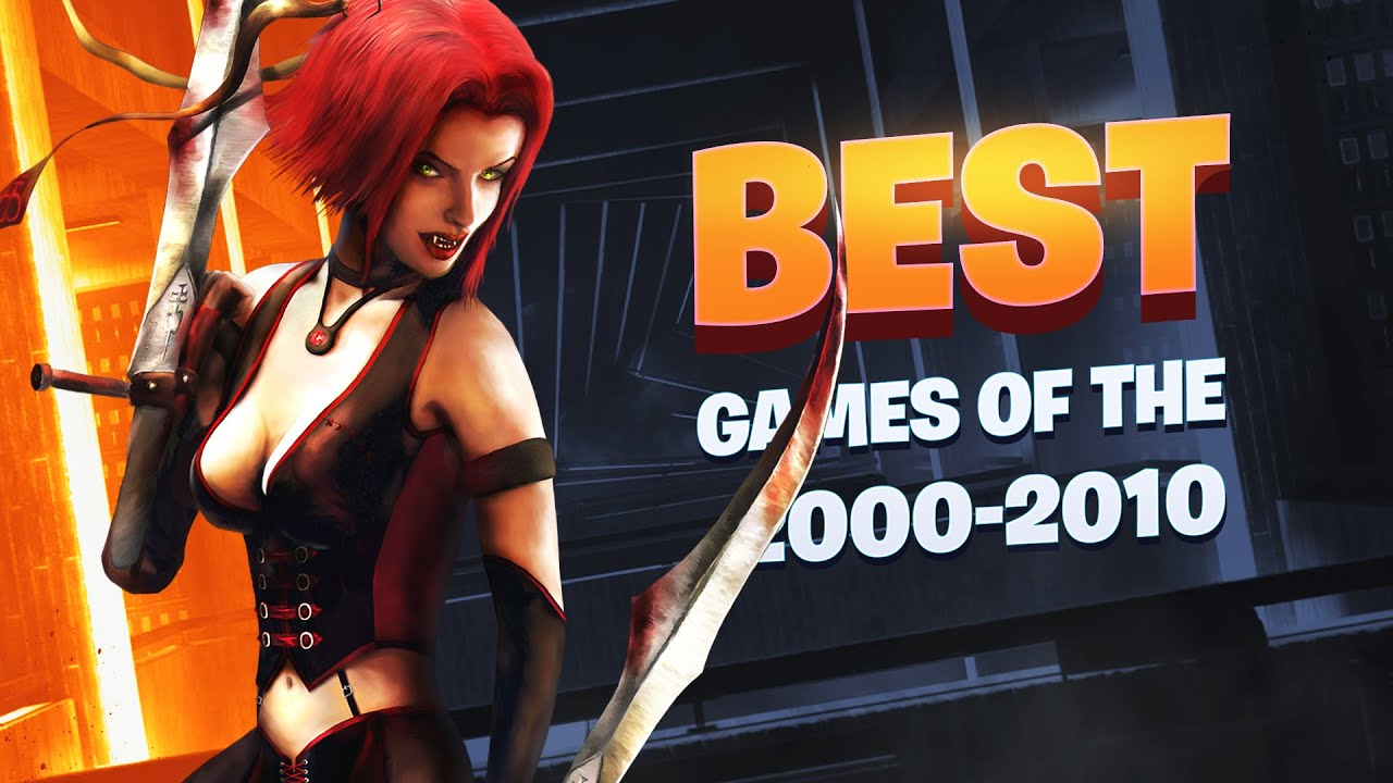 100 Best Games of the Decade (2000-2010) | Games for OLD Laptops and Low-End PCs