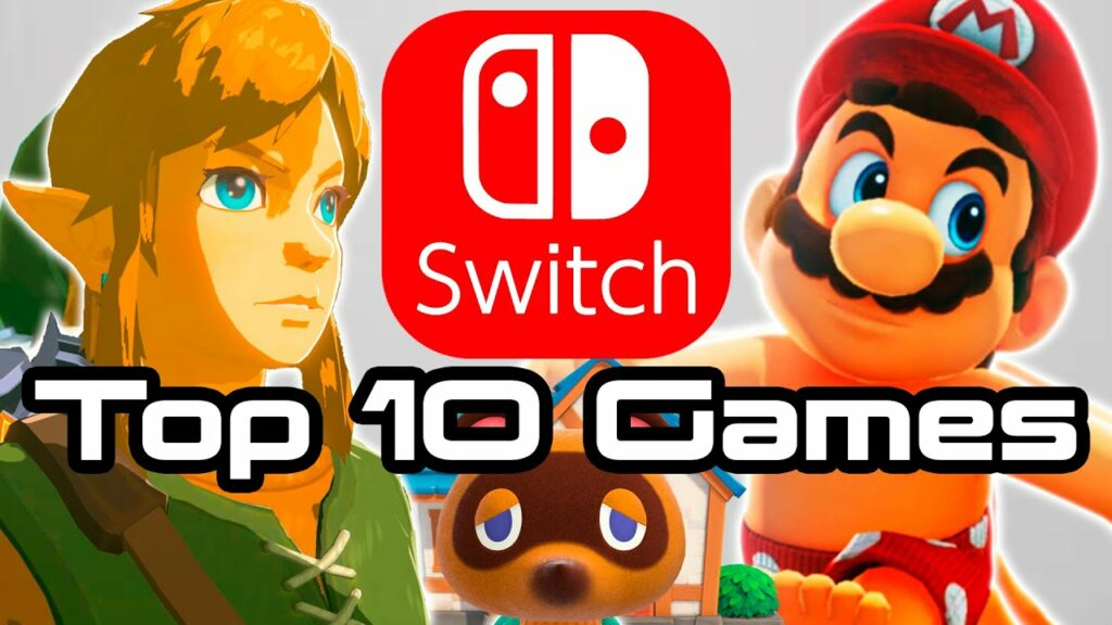 Top 10 Nintendo Switch Games of All Time!