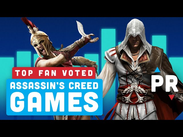 Revealed: Your Top 5 Assassin's Creed Games – Power Ranking