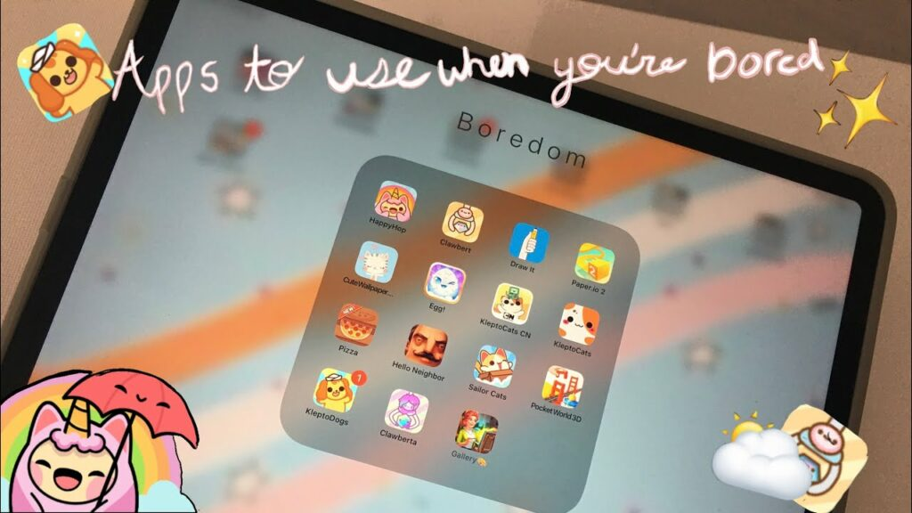 Apps To Download When Your Bored *~😐 ⛅️ ~*